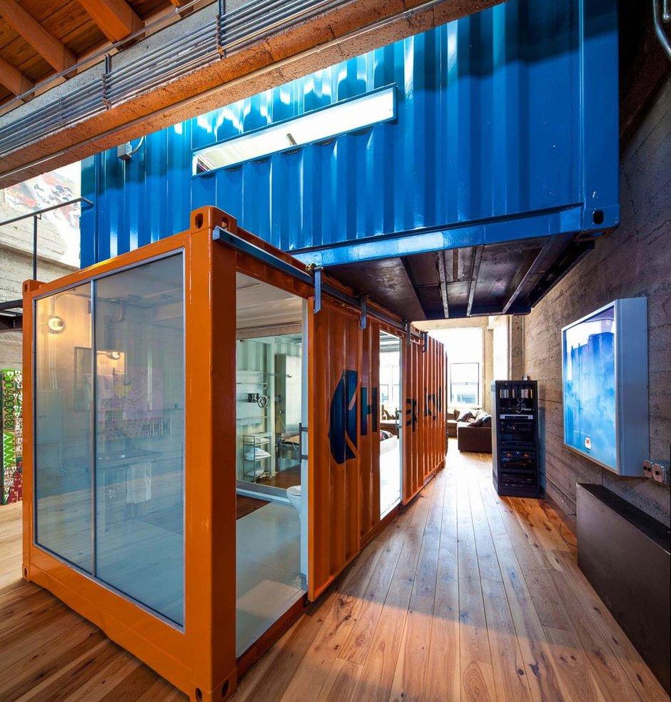 Фотография:  в стиле Лофт, Дом, Дома и квартиры, Проект недели – фото на INMYROOM