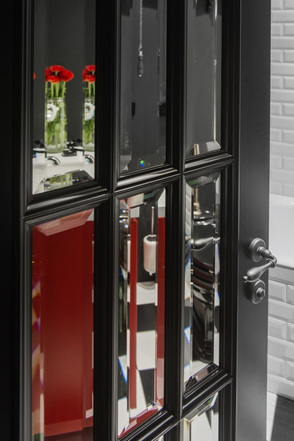 Фотография: Ванная в стиле Эклектика, Квартира, Проект недели, Москва, Кирпичный дом, 3 комнаты, 40-60 метров, Маша Кунякина – фото на INMYROOM