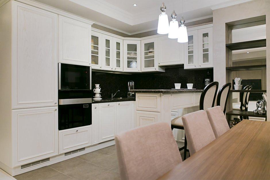 Фотография: Кухня и столовая в стиле Классический, Современный, Квартира, Дома и квартиры, Проект недели – фото на INMYROOM