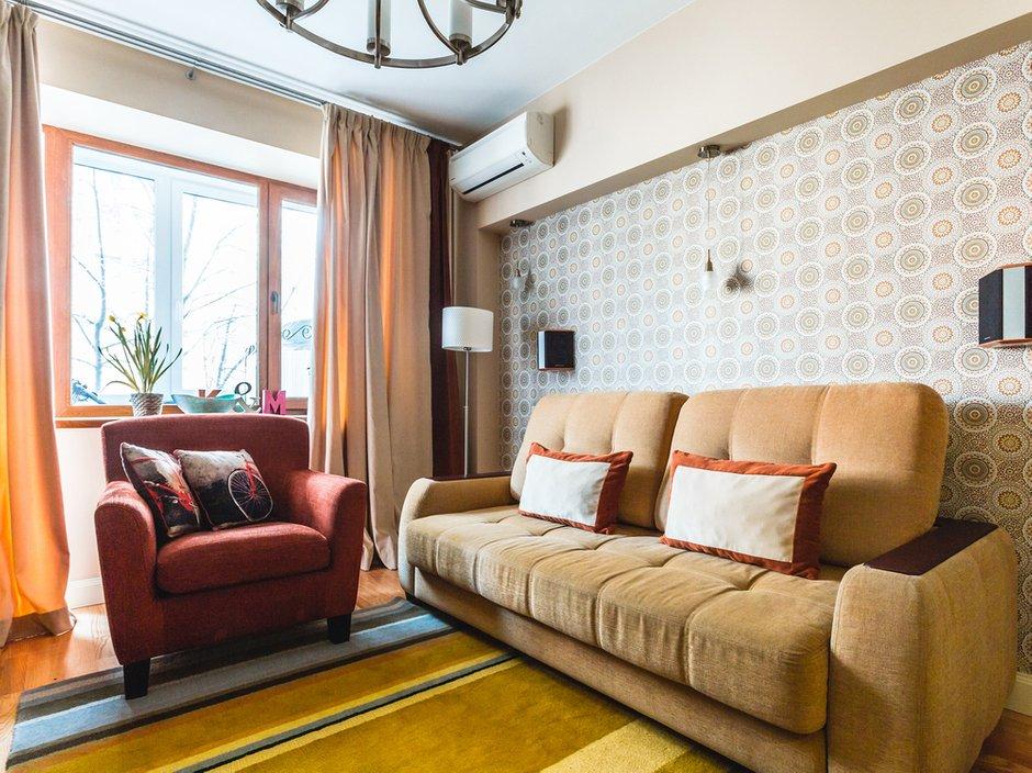 Фотография: Гостиная в стиле Современный, Классический, Квартира, Проект недели, Jazzberry – фото на INMYROOM