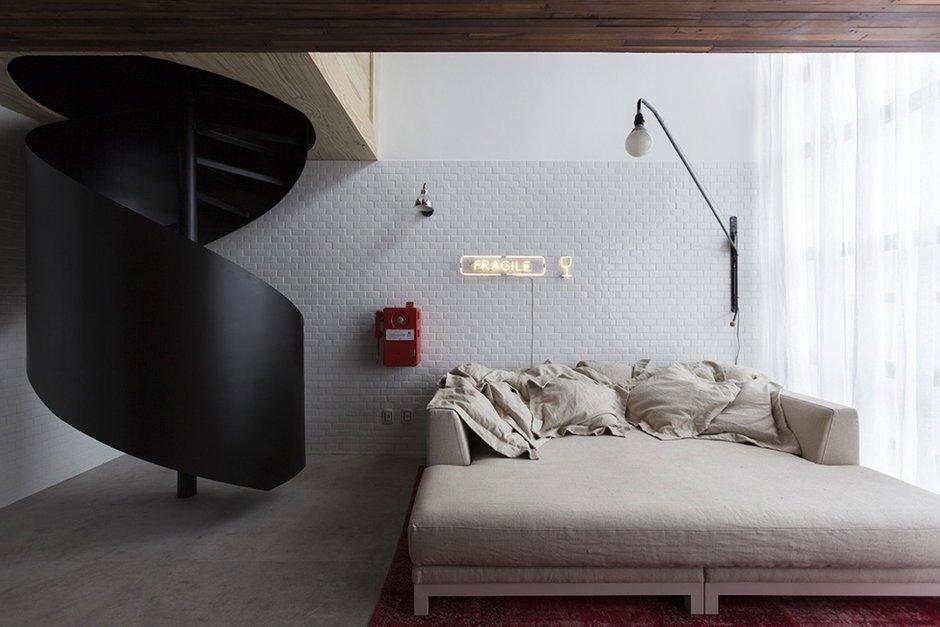 Фотография: Спальня в стиле Скандинавский, Малогабаритная квартира, Квартира, Дома и квартиры, Проект недели – фото на INMYROOM