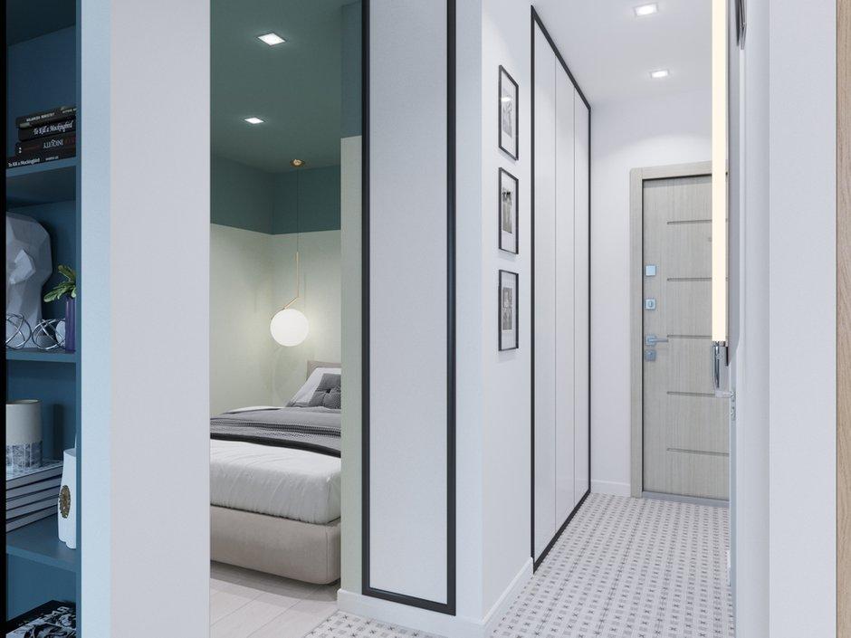 Фотография: Прихожая в стиле Современный, Малогабаритная квартира, квартира холостяка, малогабаритка, 1 комната, до 40 метров, Юлия Тельнова – фото на INMYROOM