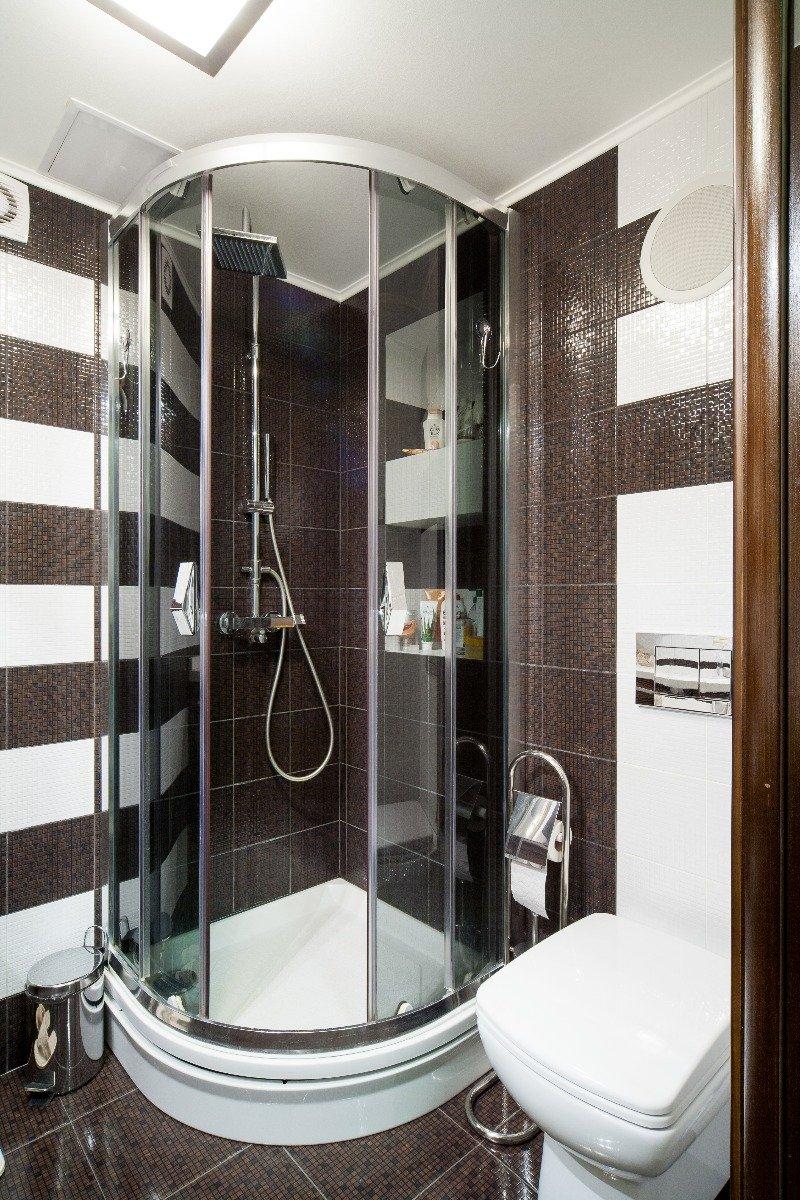 Фотография: Ванная в стиле Современный, Декор интерьера, Малогабаритная квартира, Квартира, Декор дома, Переделка, Ар-деко – фото на INMYROOM