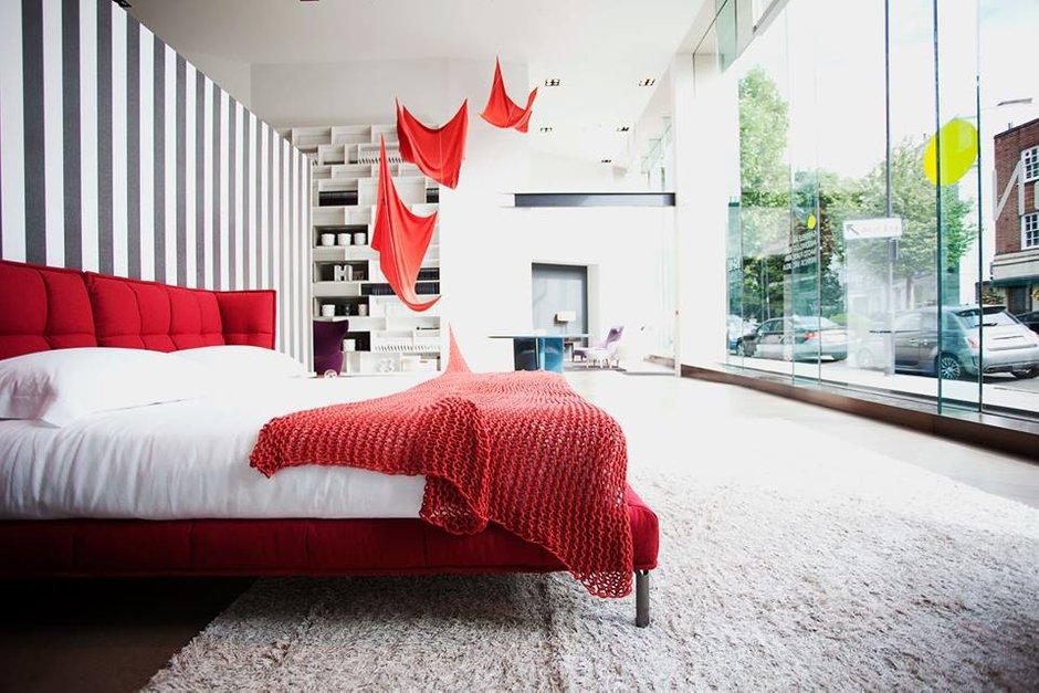 Фотография: Спальня в стиле Скандинавский, Современный, Эклектика, Индустрия, События, Лондон, B&B Italia – фото на INMYROOM