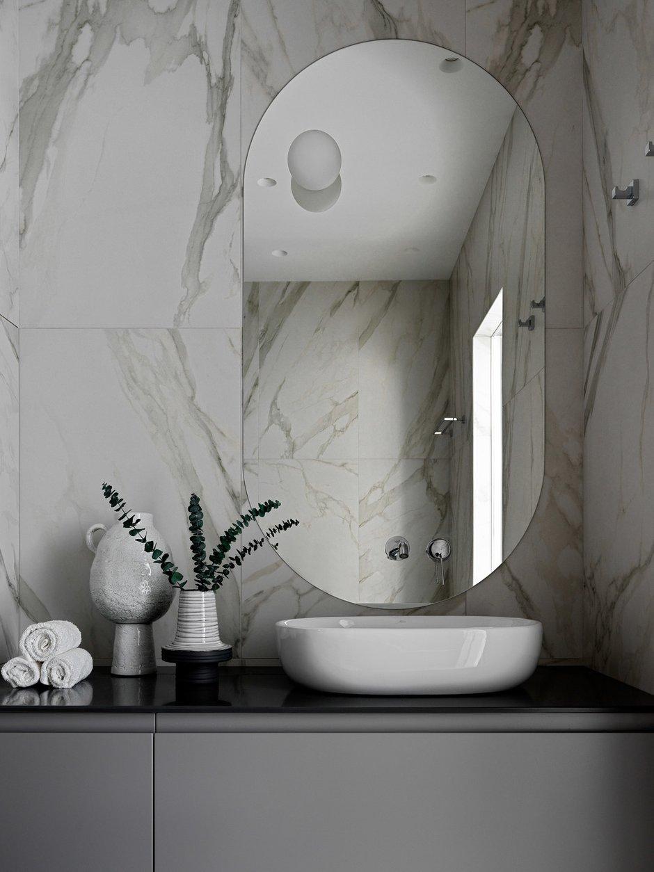 Фотография: Ванная в стиле Современный, Квартира, Минимализм, Проект недели, Москва, 2 комнаты, 60-90 метров, Elements – фото на INMYROOM