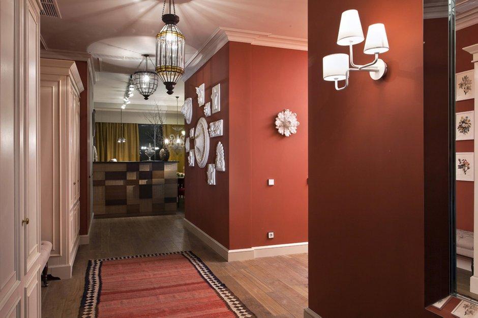 Фотография: Прихожая в стиле Восточный, Классический, Квартира, Дома и квартиры, Проект недели – фото на INMYROOM