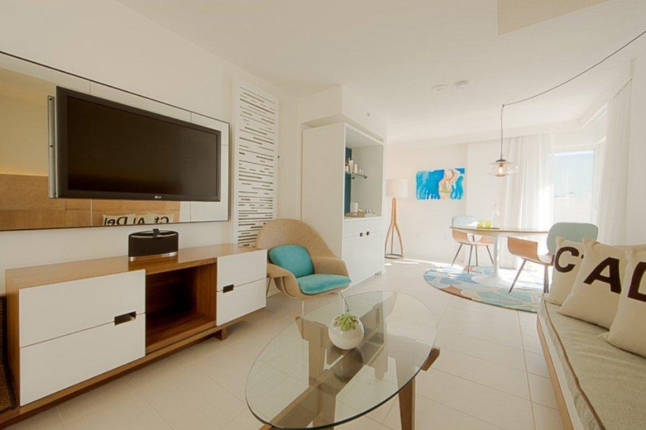 Фотография: Гостиная в стиле Скандинавский, Современный, Дома и квартиры, Городские места, Бразилия – фото на INMYROOM