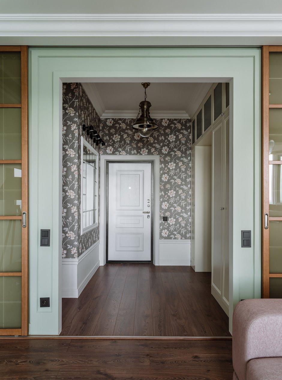 Фотография: Прихожая в стиле Классический, Современный, Квартира, Проект недели, Красногорск, Монолитный дом, 2 комнаты, 60-90 метров, Лина Савина – фото на INMYROOM