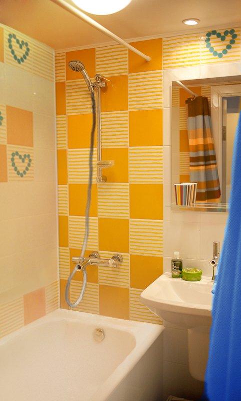 Фотография: Ванная в стиле Современный, Малогабаритная квартира, Квартира, Дома и квартиры, IKEA, Переделка – фото на INMYROOM