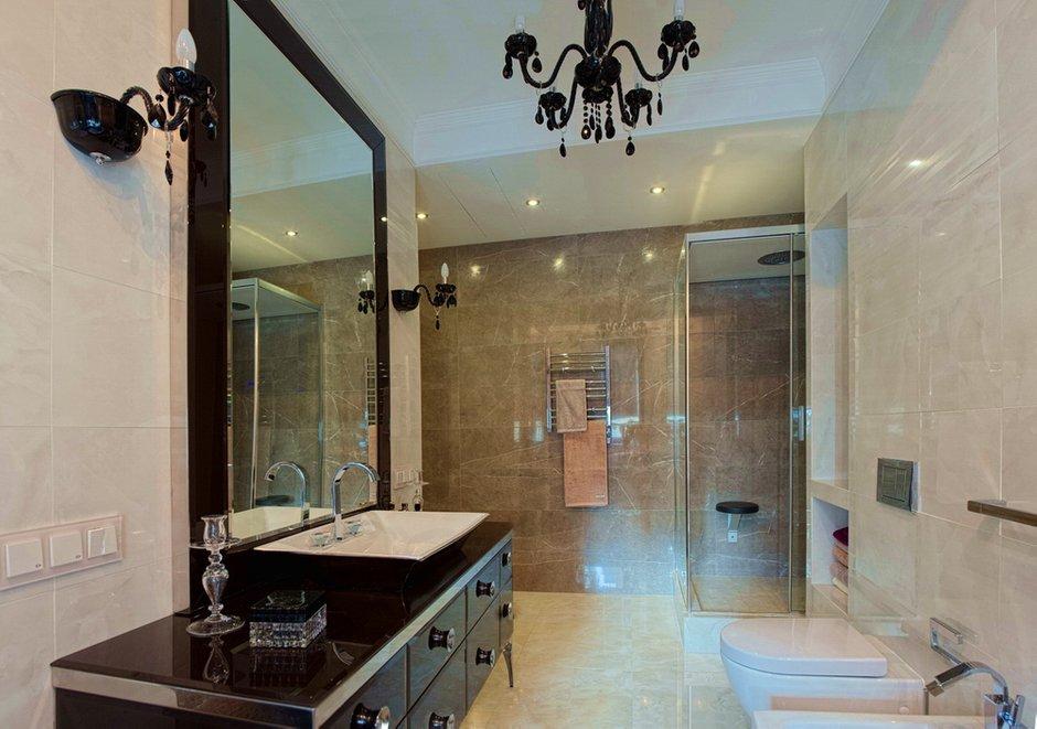 Фотография: Ванная в стиле Эклектика, Квартира, Дома и квартиры, Ар-деко, Неоклассика – фото на INMYROOM