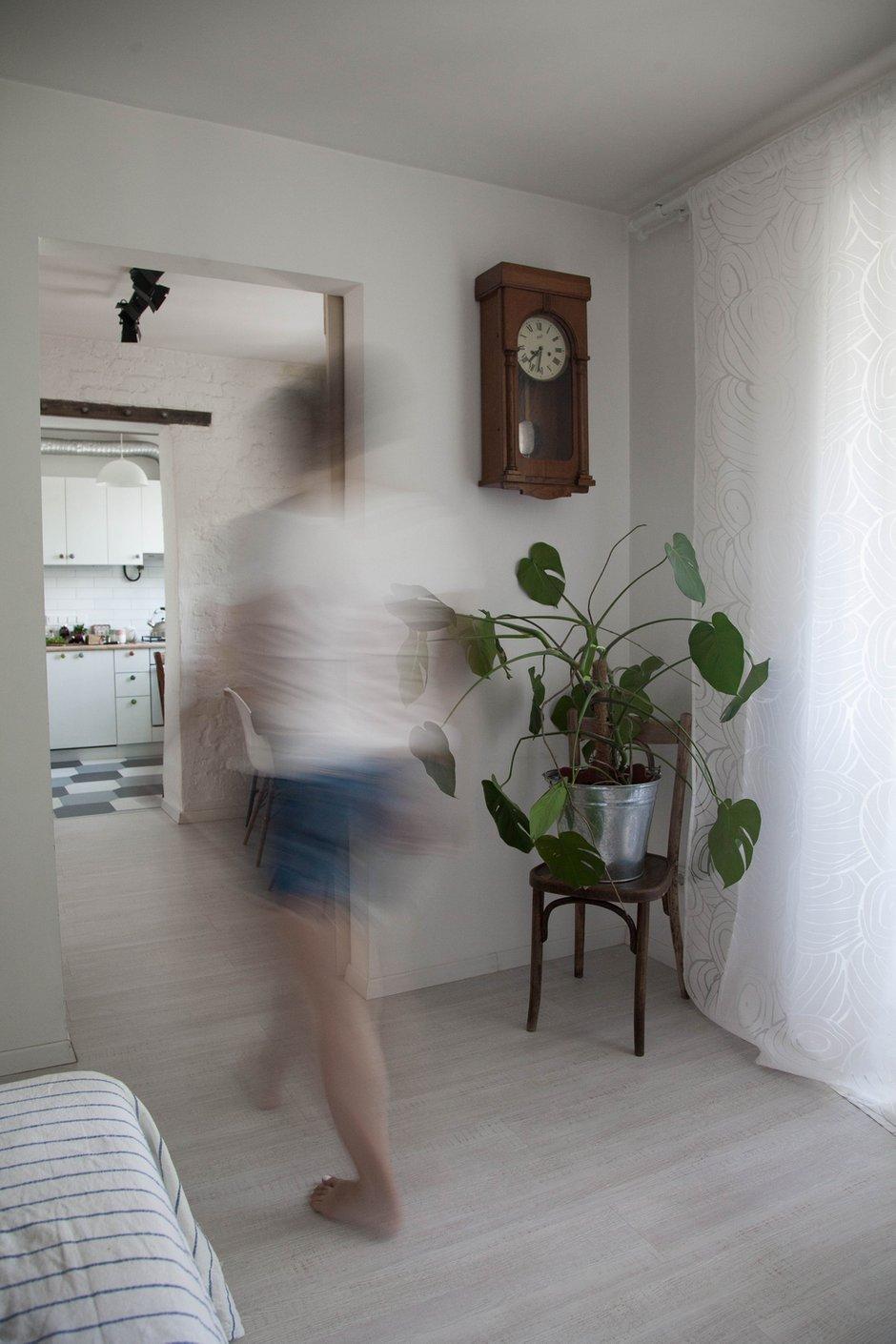 Фотография: Прихожая в стиле Восточный, Скандинавский, Квартира, Проект недели, двухкомнатная квартира, Герой InMyRoom, Казахстан, Хрущевка – фото на INMYROOM