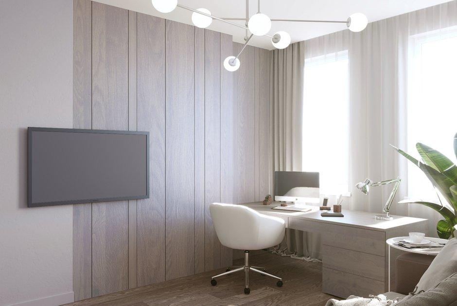 Фотография: Кабинет в стиле Современный, Декор интерьера, Квартира, Москва, 3 комнаты, Более 90 метров, Тор-Ард – фото на INMYROOM