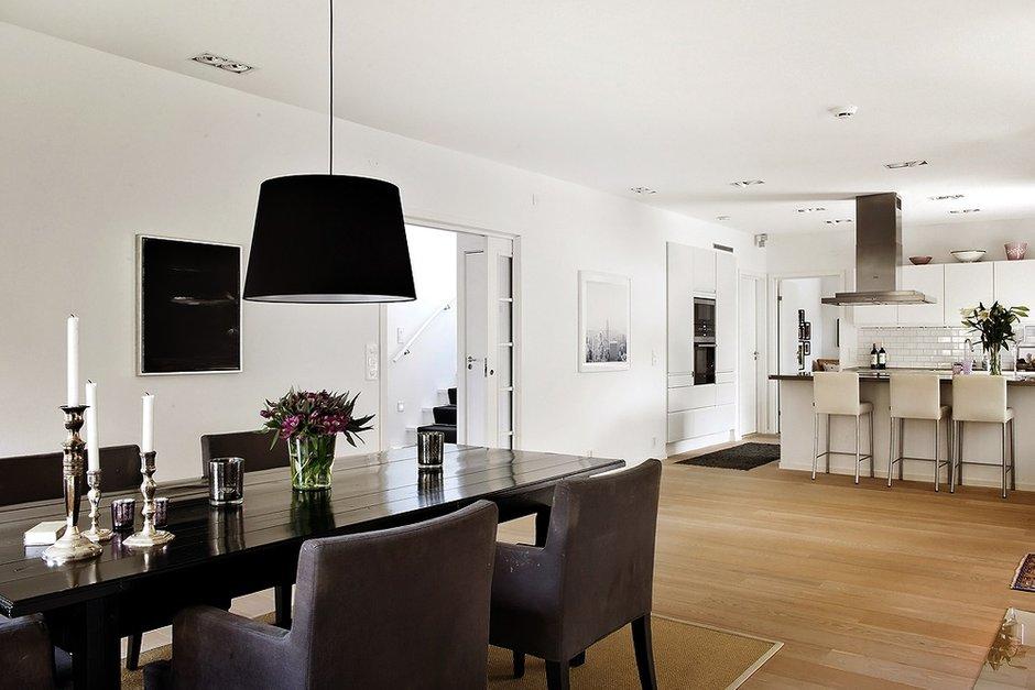 Фотография: Кухня и столовая в стиле , Скандинавский, Дом, Дома и квартиры – фото на INMYROOM