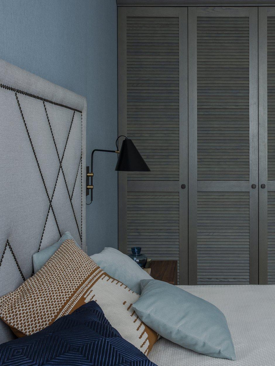 Фотография: Спальня в стиле Современный, Квартира, Проект недели, Москва, Монолитный дом, 4 и больше, 60-90 метров, Ольга Рудакова – фото на INMYROOM