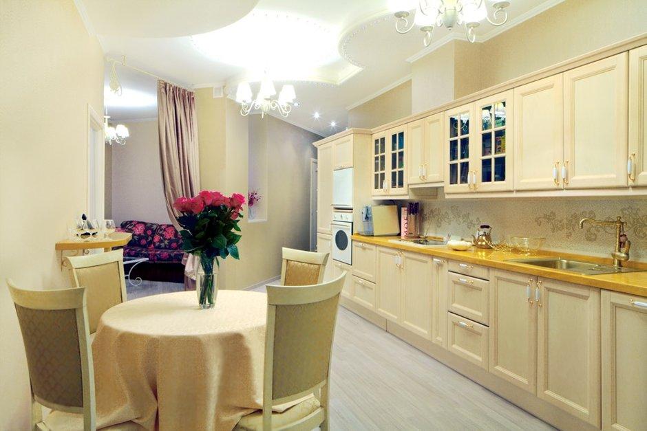 Фотография: Кухня и столовая в стиле Эклектика, Квартира, Дома и квартиры – фото на INMYROOM
