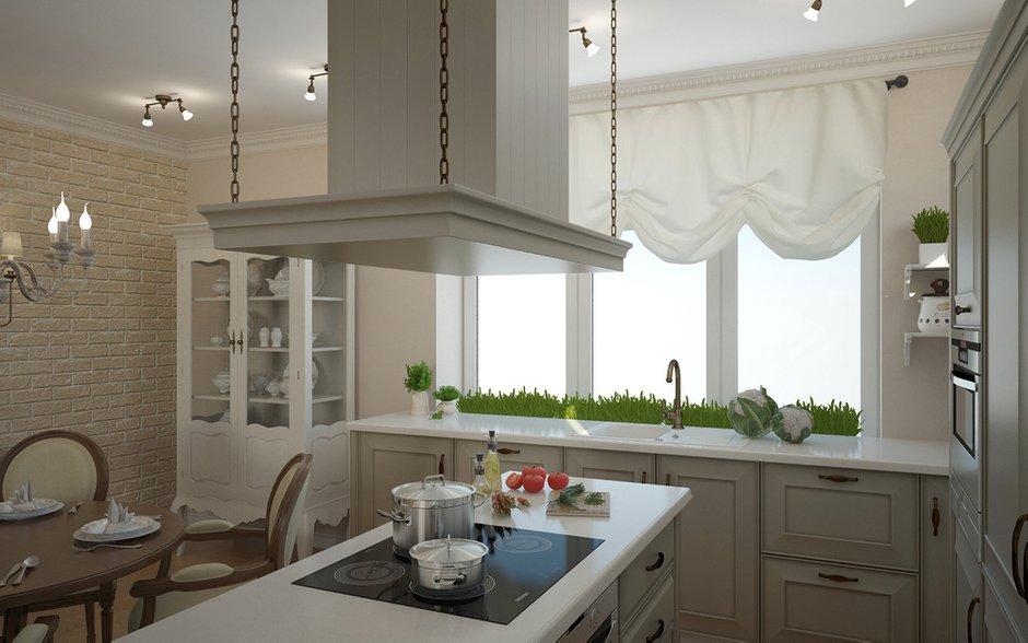 Фотография: Кухня и столовая в стиле Прованс и Кантри, Дом, Дома и квартиры, Прованс – фото на InMyRoom.ru