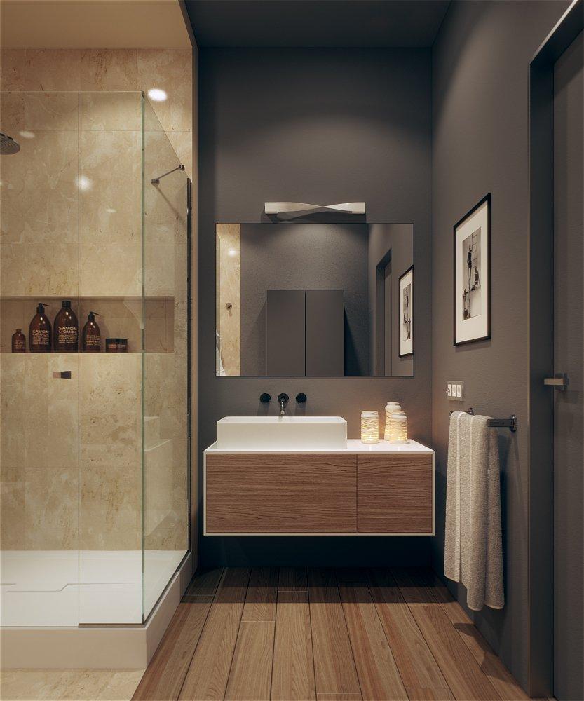 Фотография: Ванная в стиле Современный, Квартира, BoConcept, KARE Design, Дома и квартиры, Проект недели, Kartell – фото на INMYROOM