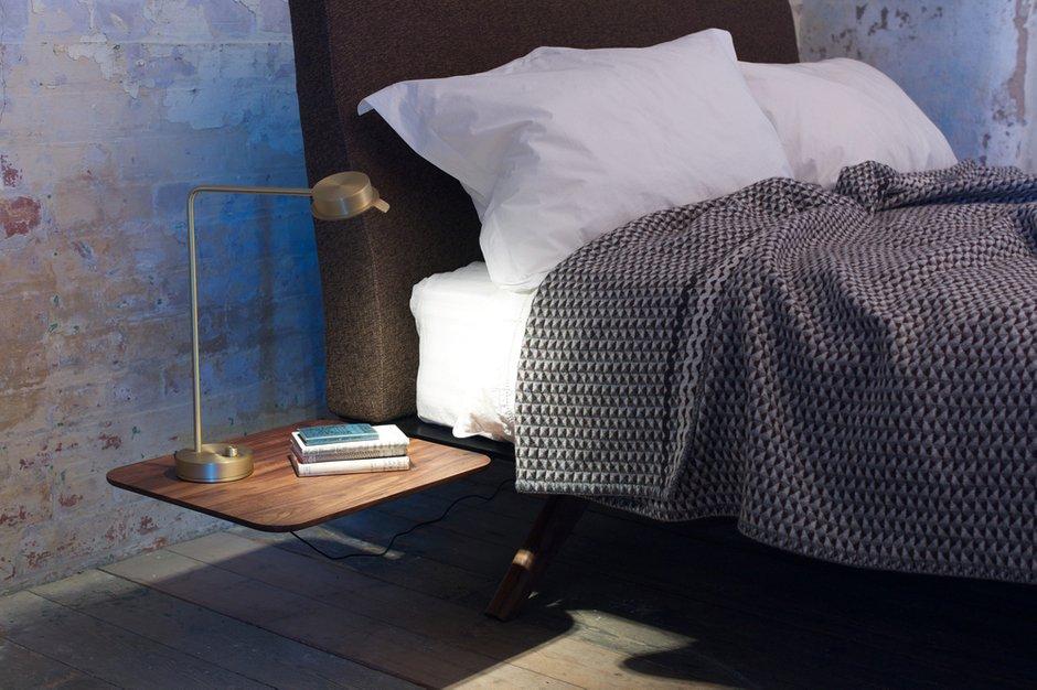 Фотография: Спальня в стиле Лофт, Современный, Скандинавский, Эклектика, Декор интерьера, Мебель и свет – фото на INMYROOM