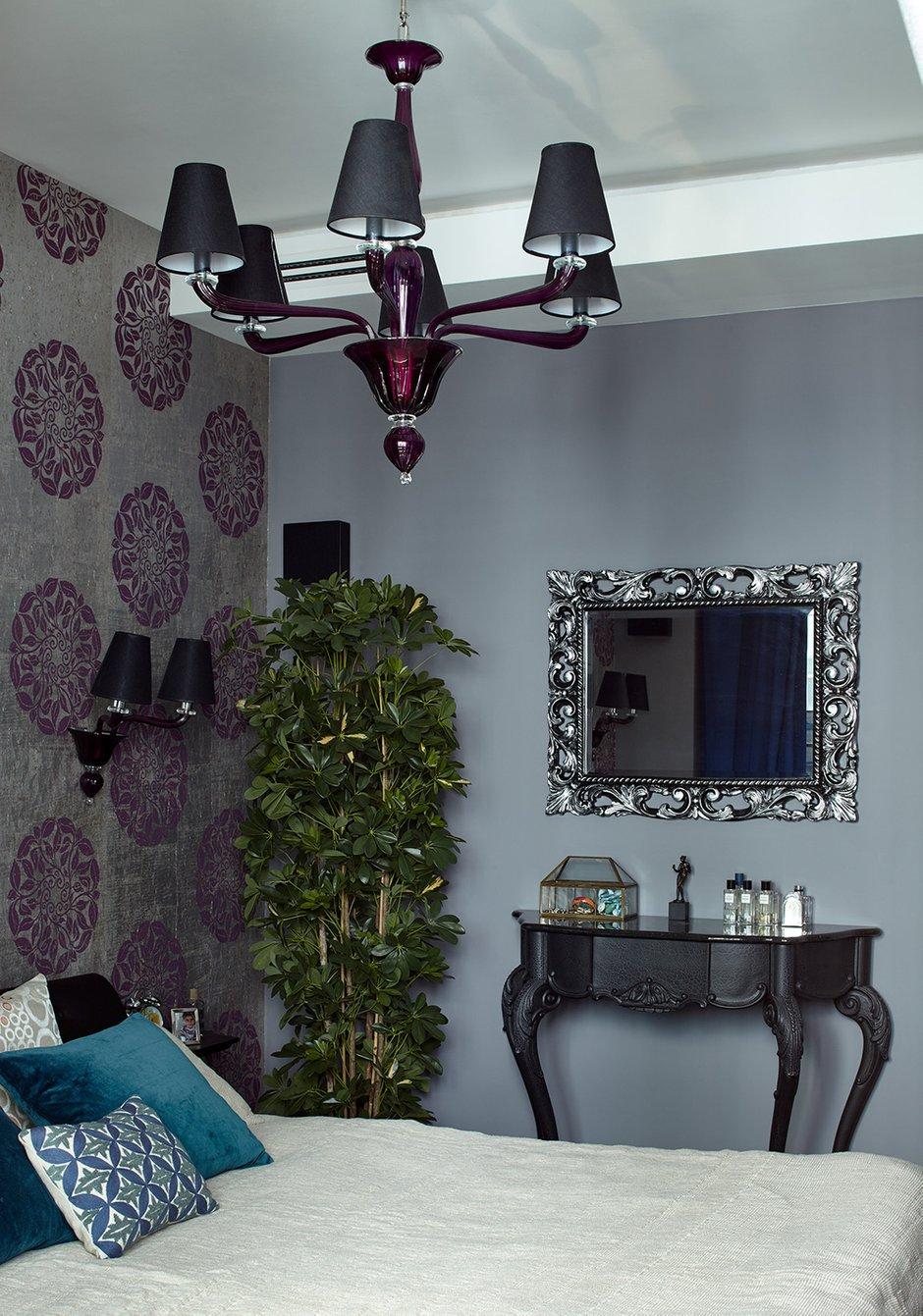Фотография: Спальня в стиле Эклектика, Квартира, Проект недели, Москва, Елена Семенова – фото на INMYROOM