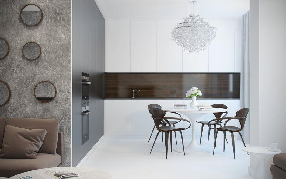 Фотография: Кухня и столовая в стиле Современный, Минимализм,  – фото на INMYROOM