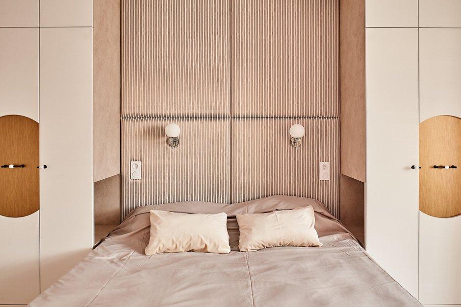 Фотография: Спальня в стиле Современный, Квартира, Проект недели, 2 комнаты, 60-90 метров, Киров, Юлия Грабко – фото на INMYROOM
