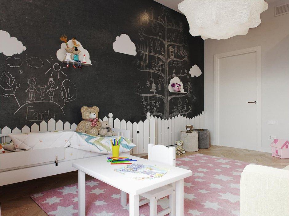 Фотография: Детская в стиле Современный, Квартира, Проект недели, Москва, Светлана Старцева, 3 комнаты, Более 90 метров – фото на INMYROOM