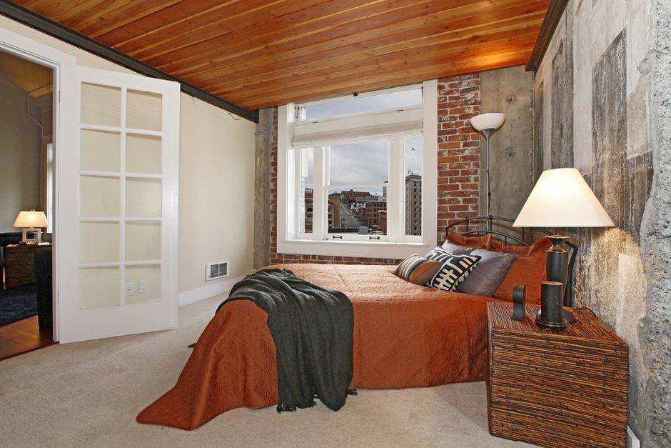Фотография: Спальня в стиле Лофт, Современный, Декор интерьера, Квартира, Дома и квартиры, Стена, Индустриальный – фото на INMYROOM