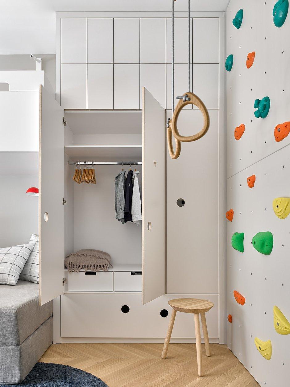Фотография: Детская в стиле Современный, Минимализм, Квартира, Проект недели, Москва, 3 комнаты, 60-90 метров, Aiya Design – фото на INMYROOM