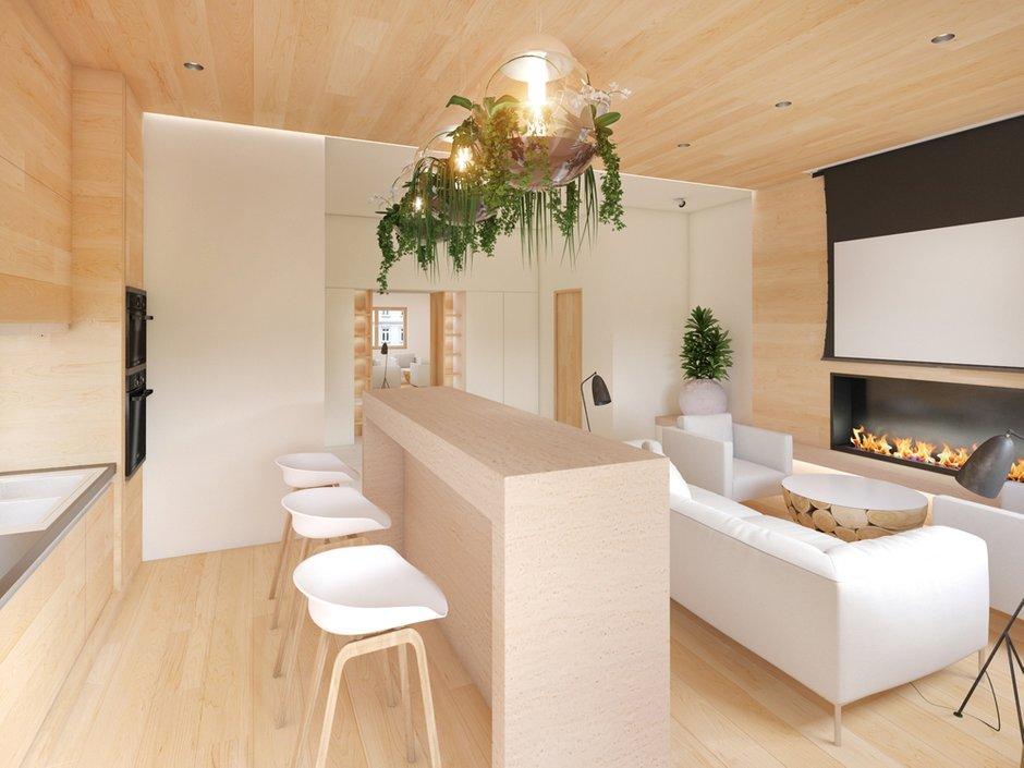 Фотография: Гостиная в стиле Современный, Квартира, Дома и квартиры, Минимализм, Проект недели – фото на InMyRoom.ru