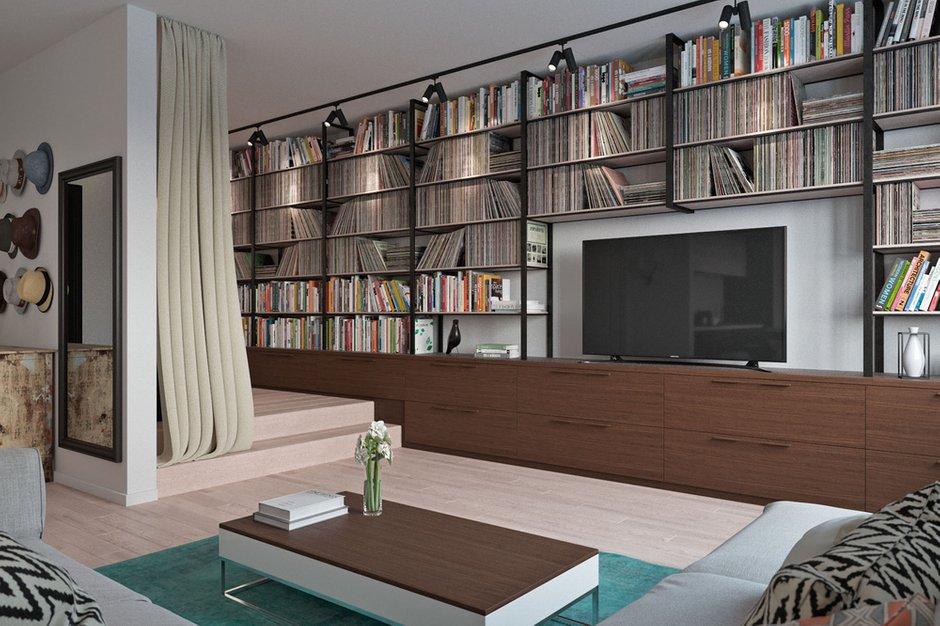 Фотография:  в стиле , Квартира, Проект недели, Москва, Инна Усубян, Сталинка – фото на INMYROOM