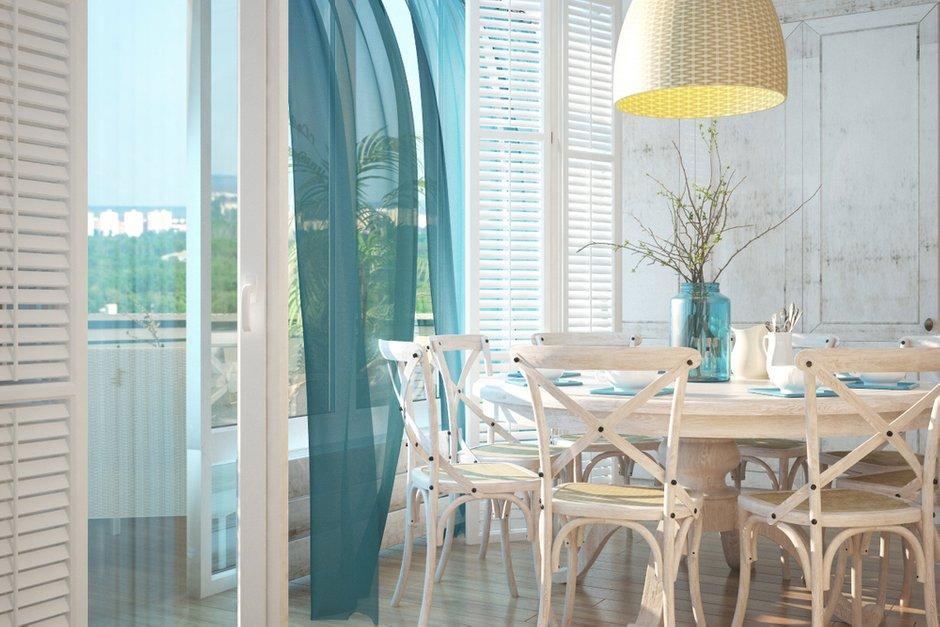 Фотография: Кухня и столовая в стиле Прованс и Кантри, Квартира, Дома и квартиры, Проект недели, Средиземноморский – фото на INMYROOM