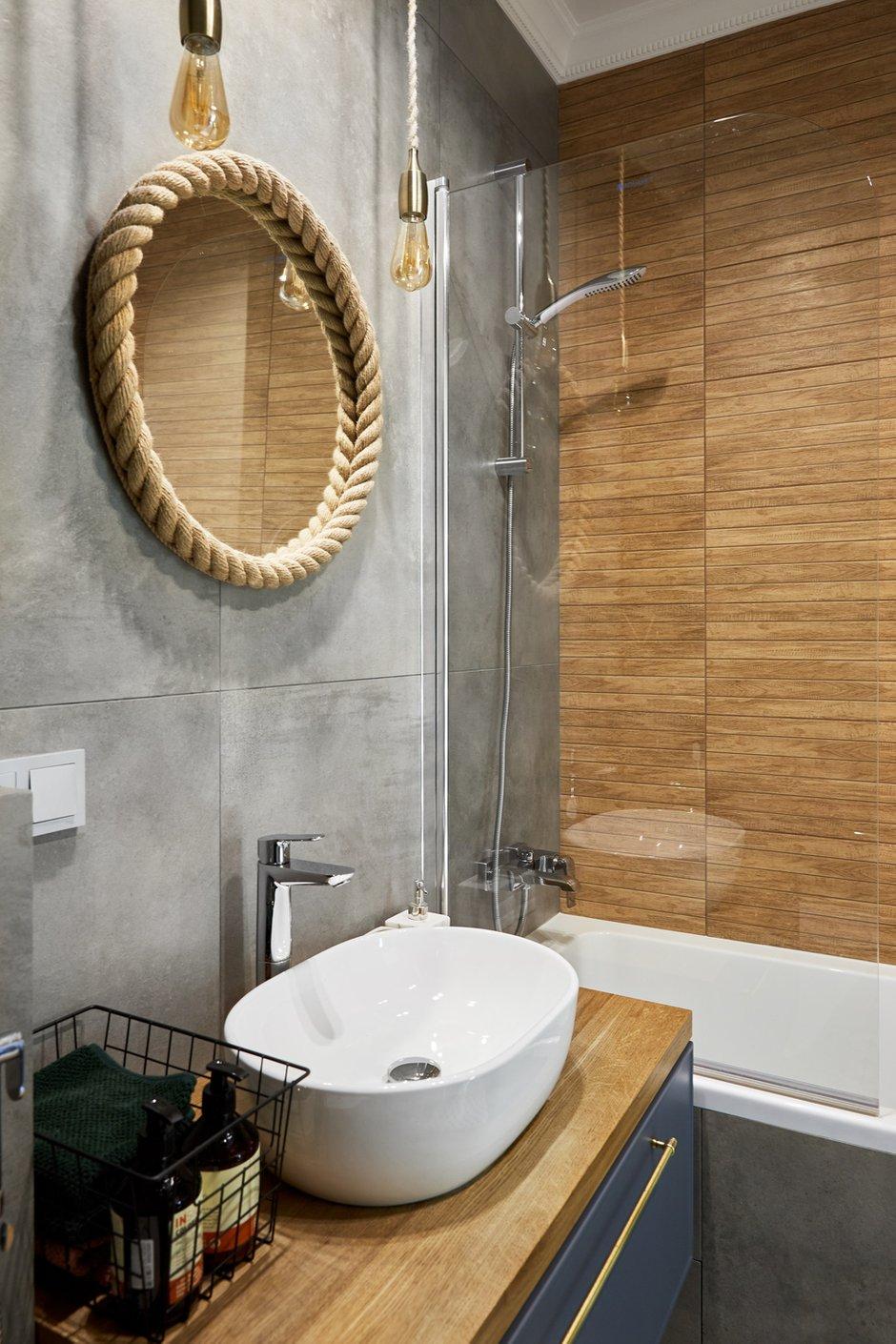 Фотография: Ванная в стиле Современный, Малогабаритная квартира, Квартира, Студия, Проект недели, Москва, до 40 метров, Мария Григорьева – фото на INMYROOM