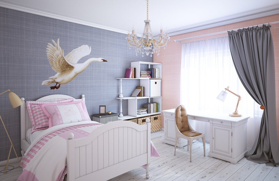 Фотография: Детская в стиле , Квартира, Дома и квартиры, Проект недели – фото на InMyRoom.ru