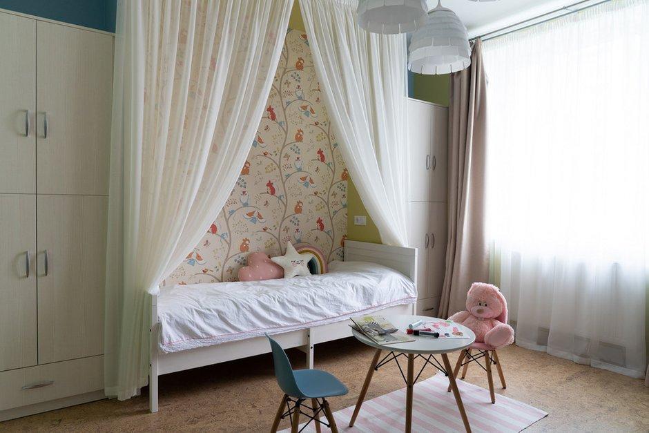 Фотография: Детская в стиле Современный, Квартира, Перепланировка, Санкт-Петербург, Светлана Гаврилова, Монолитный дом, 3 комнаты, 60-90 метров – фото на INMYROOM