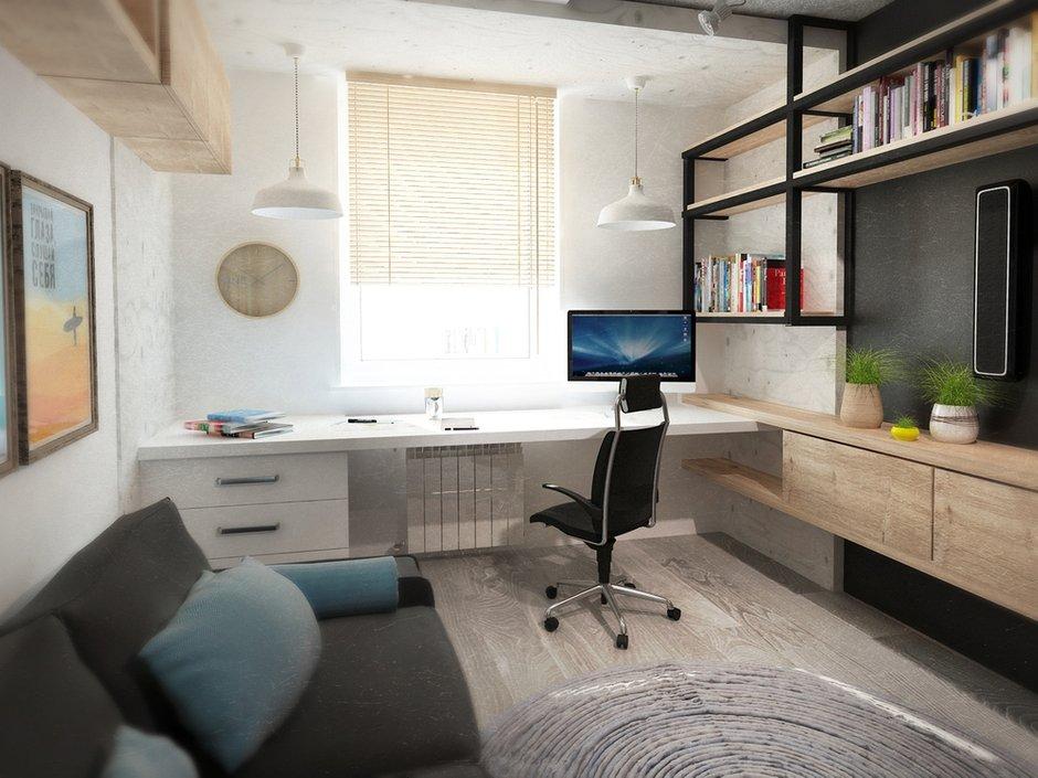 Фотография: Офис в стиле Лофт, Квартира, Дома и квартиры, IKEA, Проект недели, Cosmorelax – фото на INMYROOM