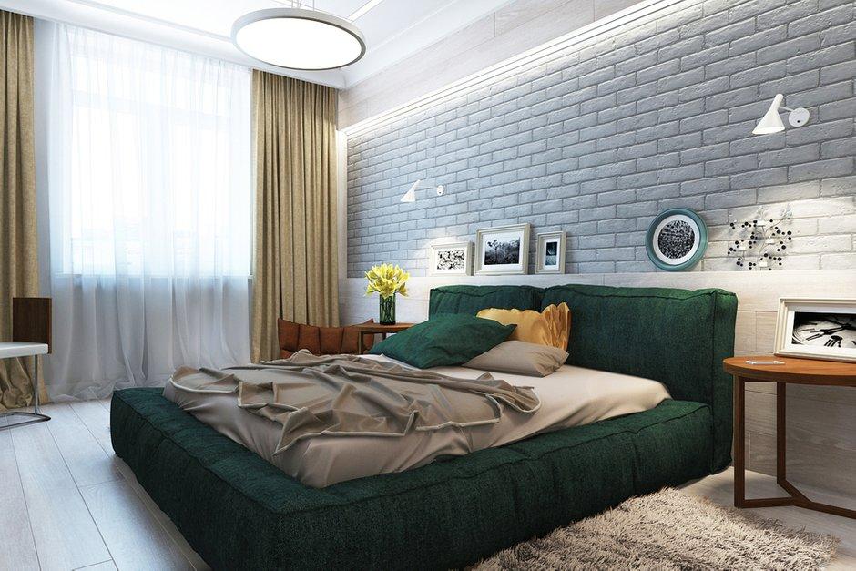Фотография: Спальня в стиле Современный, Эклектика, Квартира, Минимализм, Проект недели – фото на INMYROOM