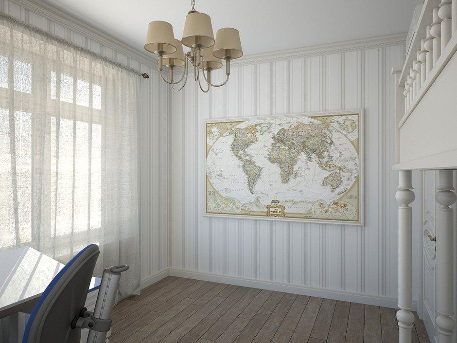 Фотография: Детская в стиле Прованс и Кантри, Дом, Дома и квартиры, Прованс – фото на INMYROOM