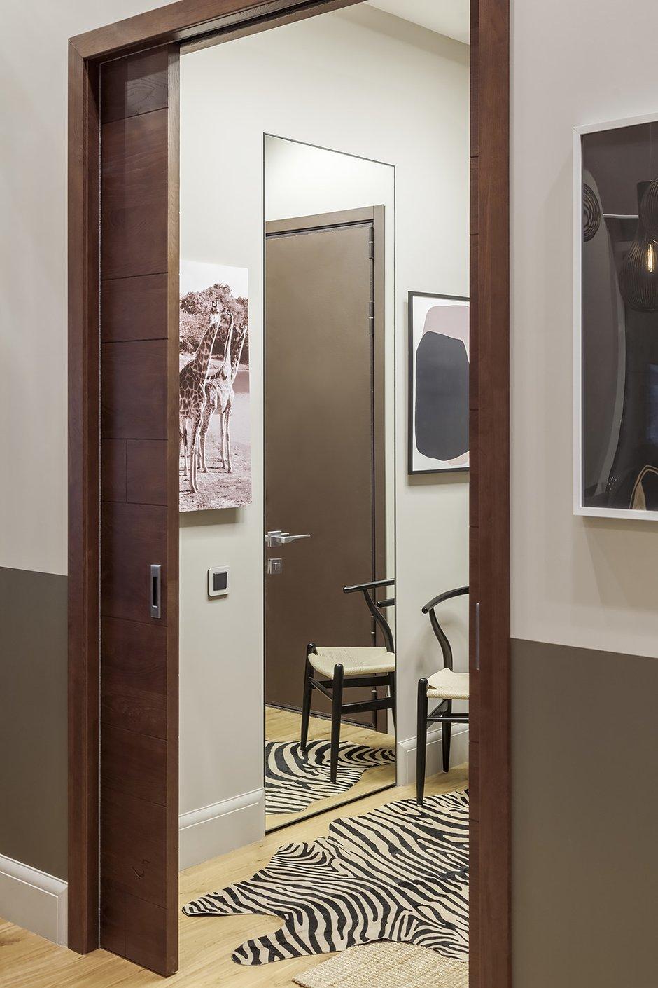 Фотография: Прихожая в стиле Современный, Квартира, Проект недели, Москва, Диана Мальцева, Монолитный дом, 2 комнаты, 60-90 метров – фото на INMYROOM