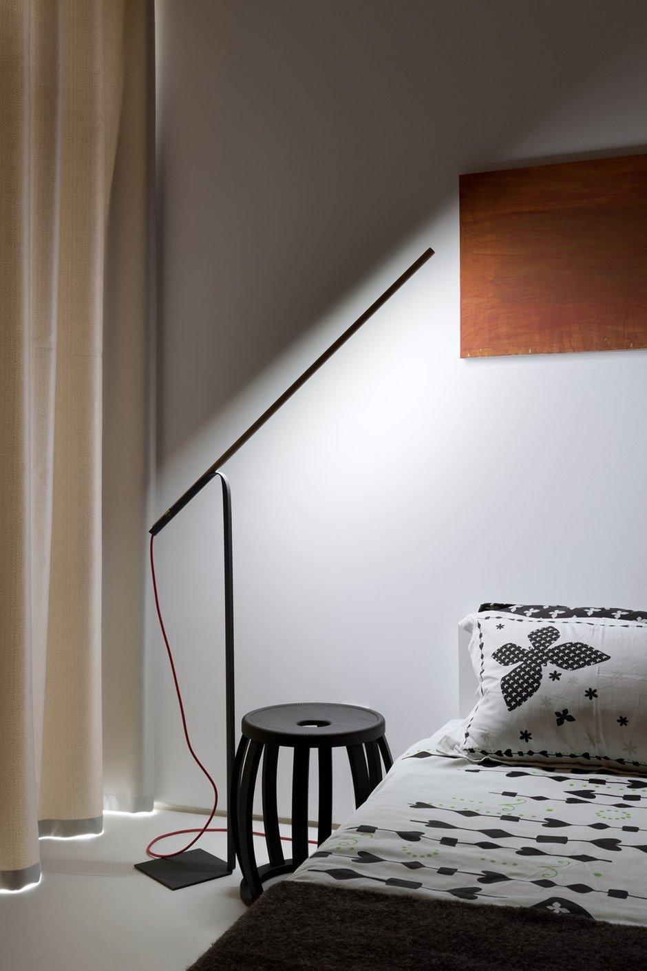 Фотография: Спальня в стиле Лофт, Современный, Малогабаритная квартира, Квартира, Украина, Дома и квартиры – фото на INMYROOM