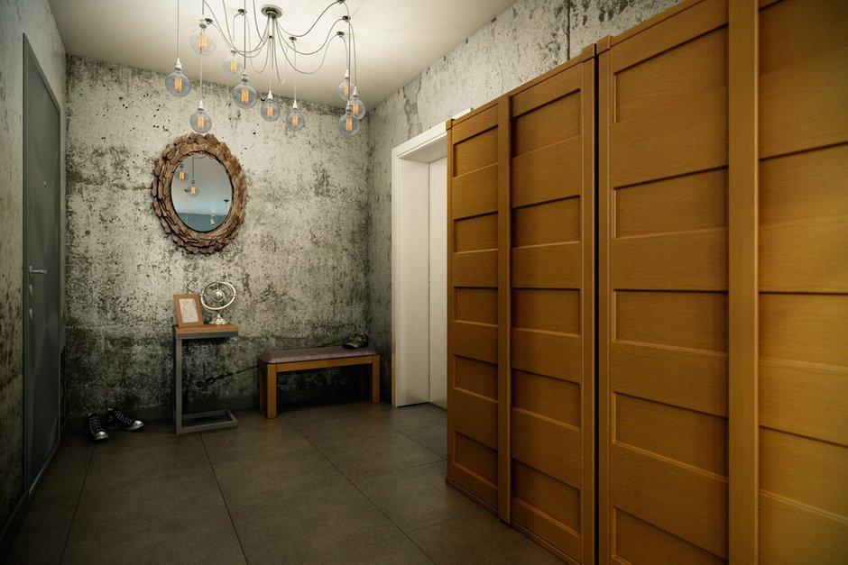 Фотография: Прихожая в стиле Эклектика, Лофт, Квартира, Дома и квартиры, Проект недели – фото на INMYROOM