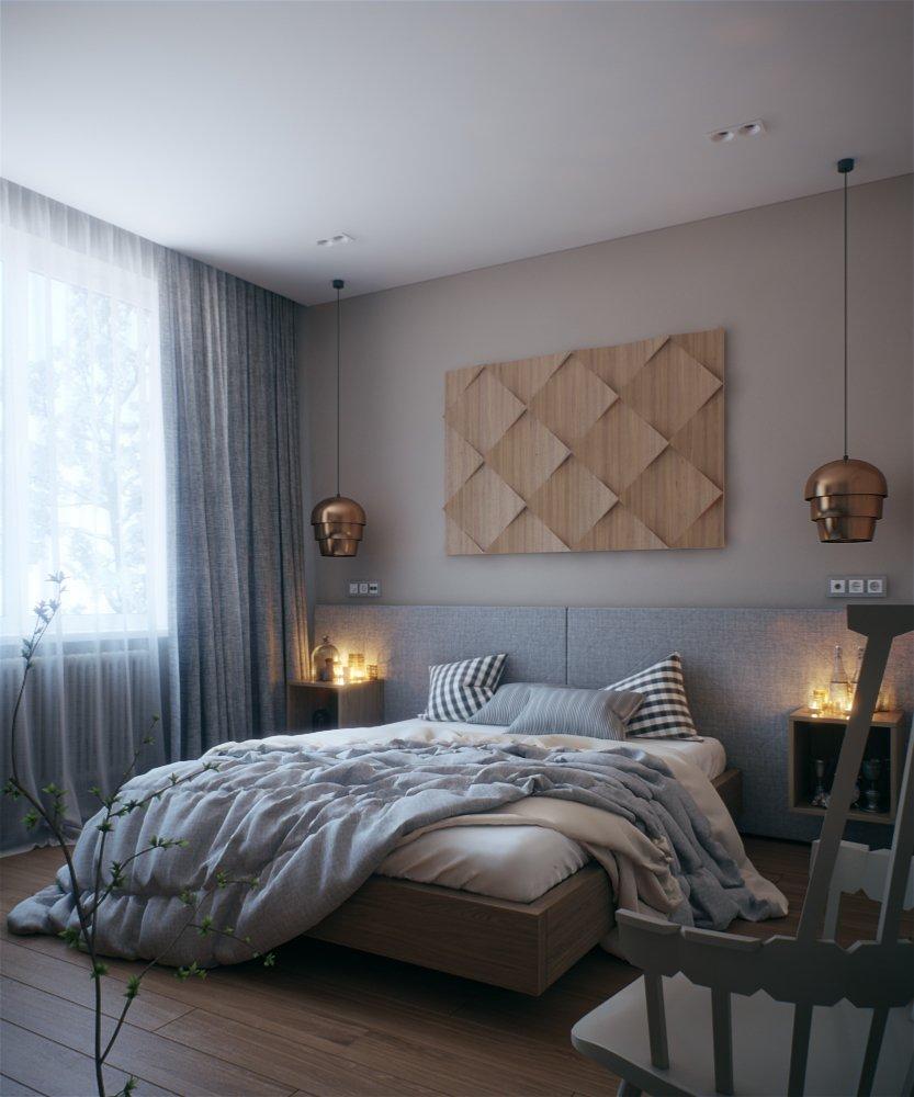 Фотография: Спальня в стиле Эклектика, Квартира, BoConcept, KARE Design, Дома и квартиры, Проект недели, Kartell – фото на INMYROOM