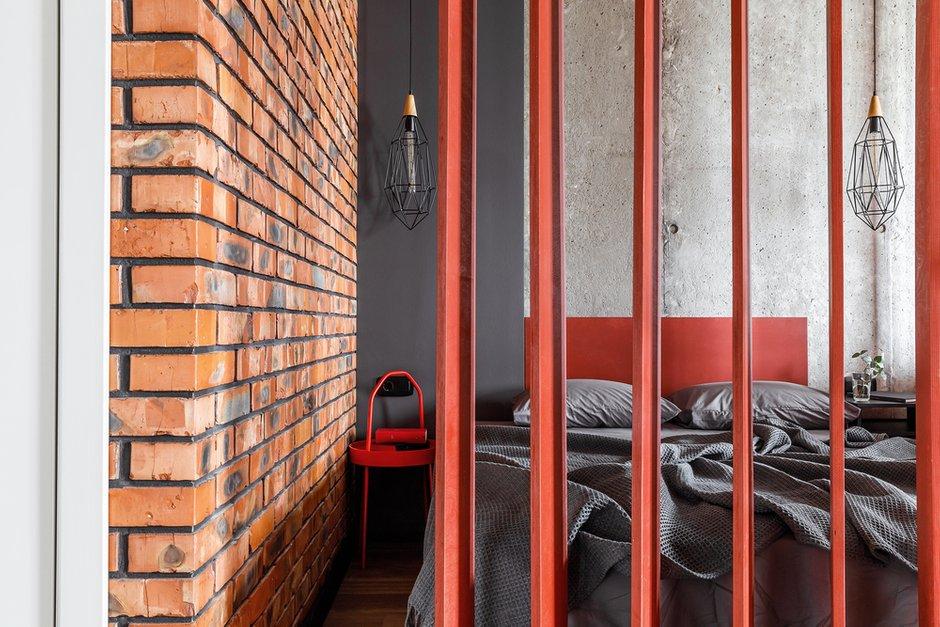 Фотография: Спальня в стиле Лофт, Современный, Квартира, Студия, Проект недели, Краснодар, Монолитный дом, до 40 метров, 40-60 метров, Андрей Попов – фото на INMYROOM