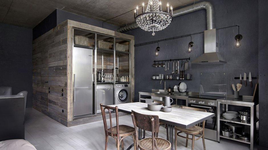 Фотография: Кухня и столовая в стиле Лофт, Тема месяца – фото на INMYROOM