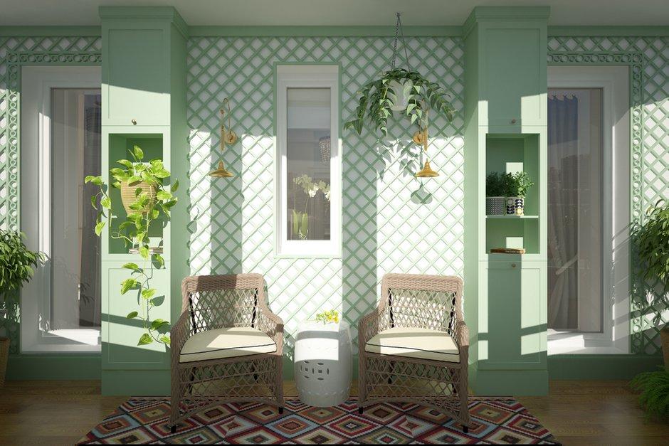 Фотография: Балкон в стиле Прованс и Кантри, Квартира, Проект недели, Санкт-Петербург, Светлана Гаврилова – фото на INMYROOM