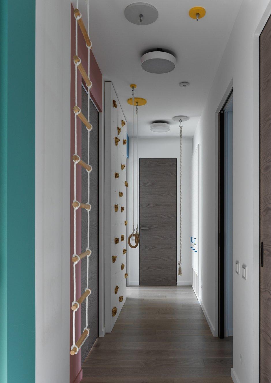 Фотография: Прихожая в стиле Современный, Квартира, Проект недели, Москва, 4 и больше, Более 90 метров, ТУДА – фото на INMYROOM