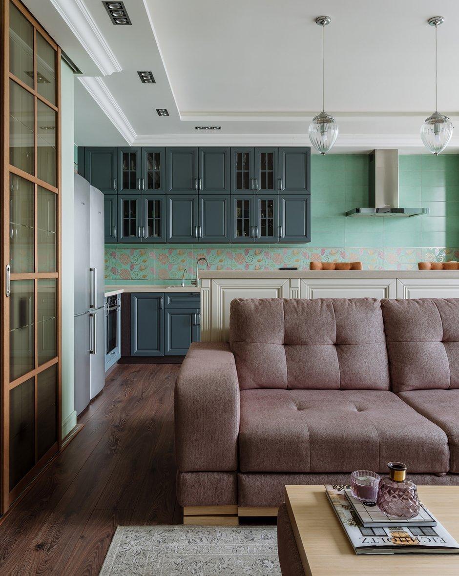 Фотография: Кухня и столовая в стиле Классический, Современный, Квартира, Проект недели, Красногорск, Монолитный дом, 2 комнаты, 60-90 метров, Лина Савина – фото на INMYROOM