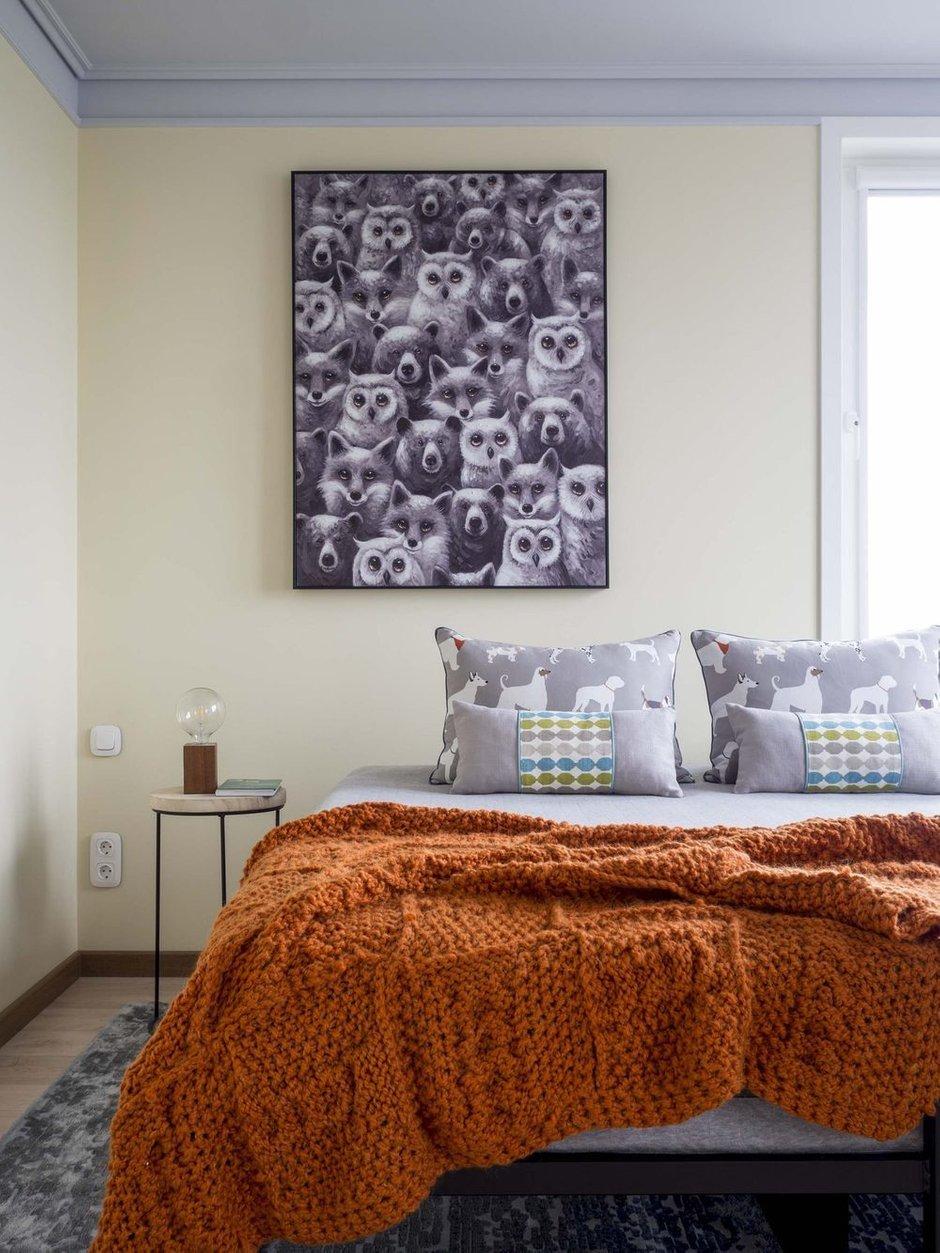 Фотография: Спальня в стиле Современный, Квартира, Проект недели, Нижний Новгород, 4 и больше, Более 90 метров, Bilbao Design – фото на INMYROOM