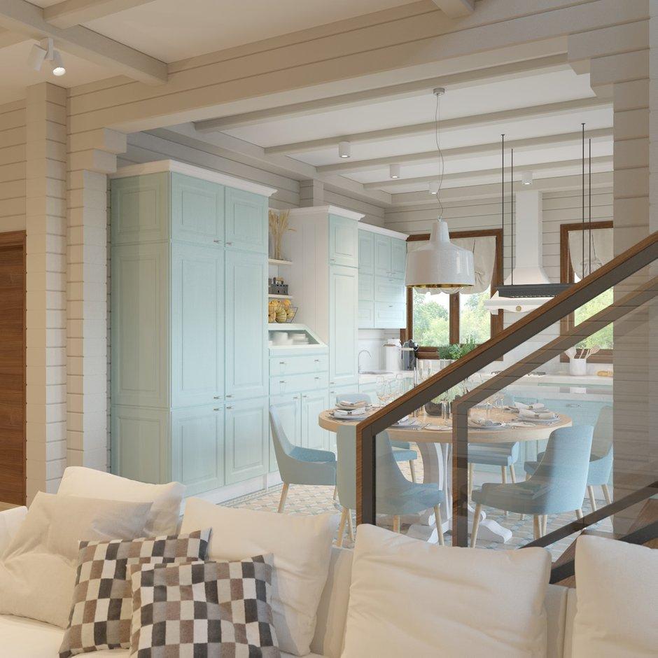 Фотография: Кухня и столовая в стиле Современный, Дом, Проект недели, Дом и дача – фото на INMYROOM