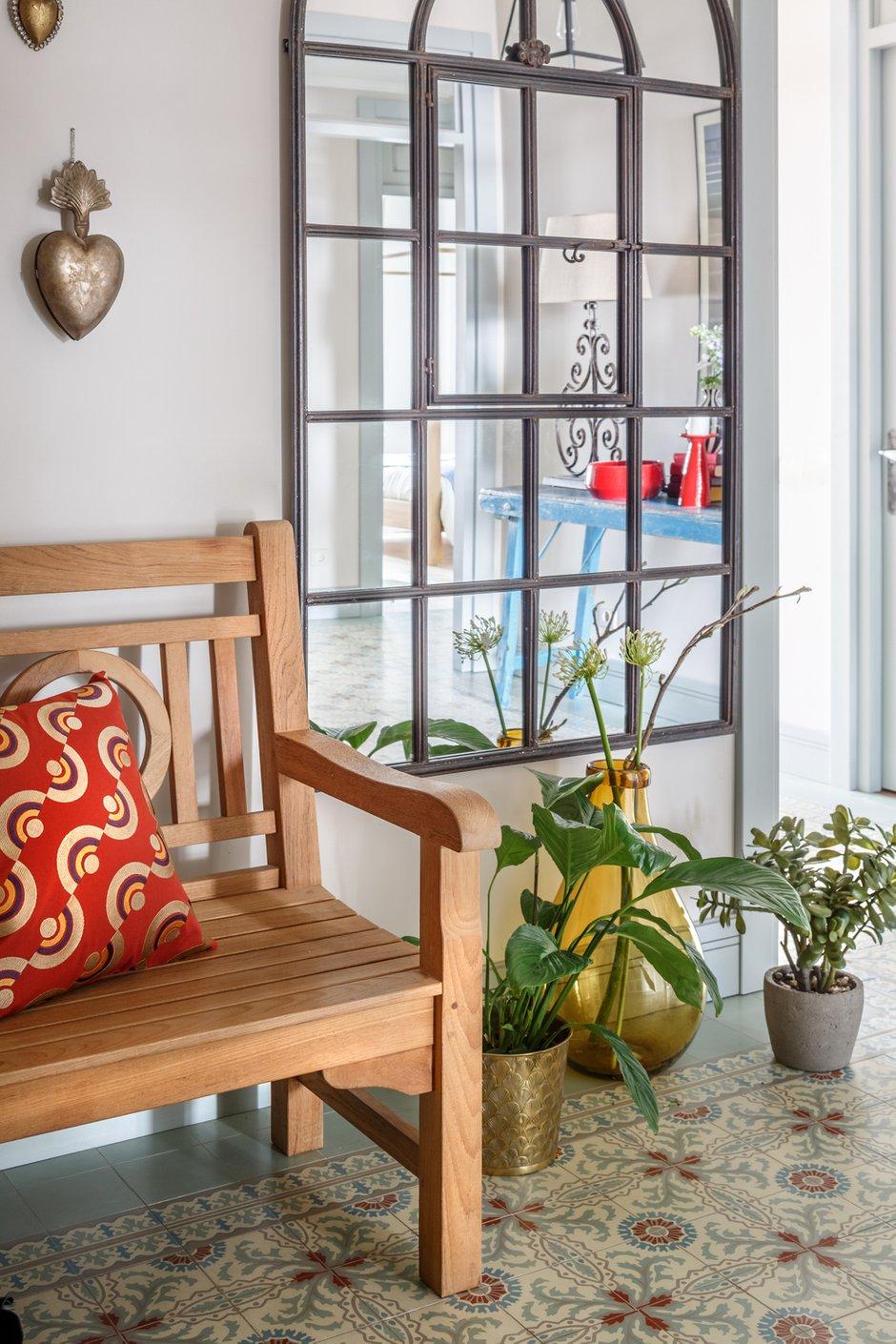 Фотография: Прихожая в стиле Прованс и Кантри, Декор интерьера, Квартира, Проект недели, Москва, Надя Зотова, 3 комнаты, Более 90 метров, студия Enjoy Home, Монолитно-кирпичный – фото на INMYROOM