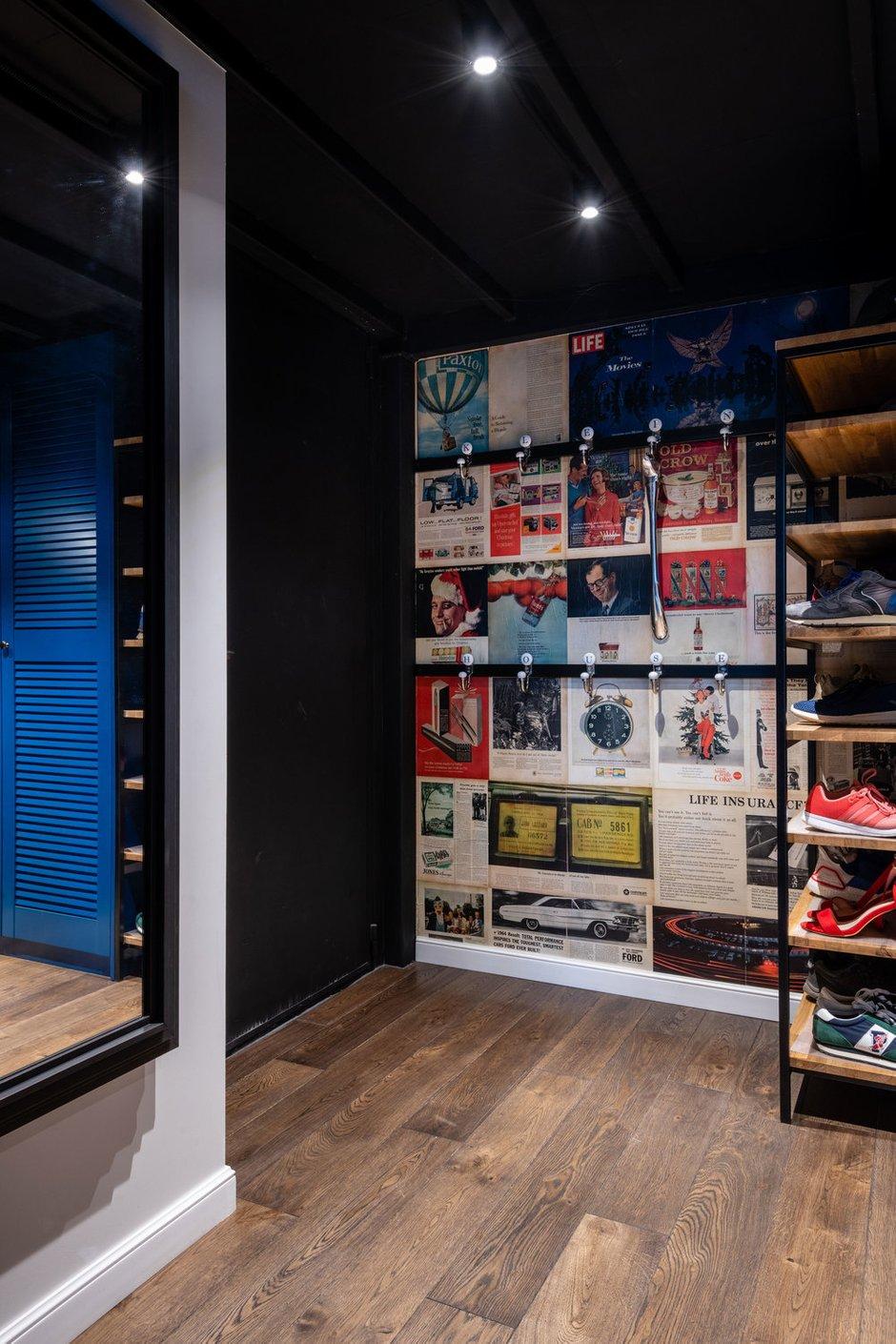 Фотография: Прихожая в стиле Лофт, Квартира, Студия, Проект недели, Москва, Кирпичный дом, 40-60 метров, Юлия Сологубова – фото на INMYROOM
